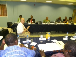Workshop for University Deans in Harare